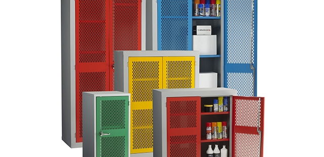 Vision & Perforated Cupboards