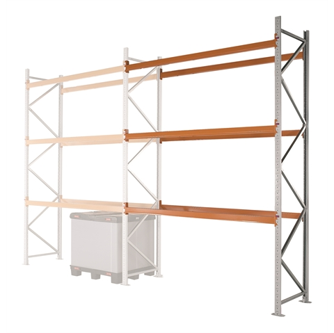 Apex Pallet Racking Extension Bays