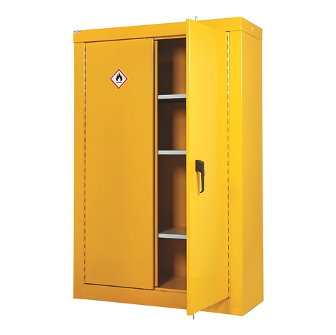 Full Height Heavy Duty Hazardous Storage Cupboards