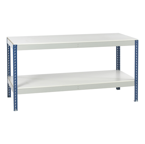 Workbenches with Full Lower Shelf