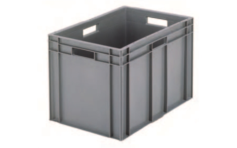 Solid Euro Containers without Lids
